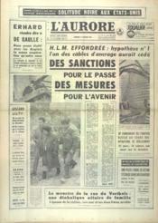 Aurore (L') N°6026 du 17/01/1964 - Couverture - Format classique