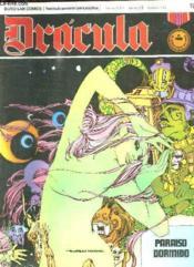 Dracula N° 19. Paraiso Dormido. Texte En Espagnol. Bande Dessinee Pour Adultes. - Couverture - Format classique