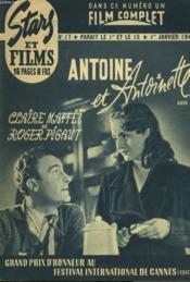 Stars Et Films - N°17 - Antoine Et Antoinette - Couverture - Format classique