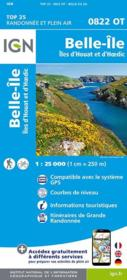 Vente livre :  Belle-Ile, Houat, Hoedic  - Collectif Ign