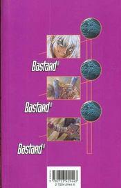 Bastard !! - Tome 20 - 4ème de couverture - Format classique