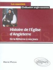 Histoire De L'Eglise D'Angleterre De La Reforme A Nos Jours - Intérieur - Format classique