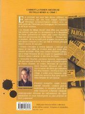 Crimes passionnels. de Casque d'or à Margot-la-poison - 4ème de couverture - Format classique