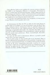 Le christianisme du début du VII au XI siècle - 4ème de couverture - Format classique