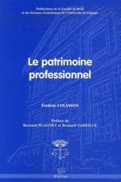 Le patrimoine professionnel - Couverture - Format classique