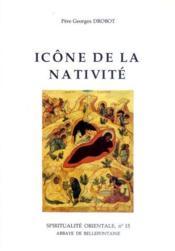 Icône de la nativité - Couverture - Format classique