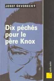 Dix Peches Pour Le Pere Knox - Intérieur - Format classique