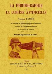 La photographie à la lumière artificielle - Couverture - Format classique