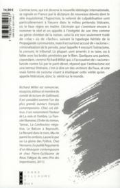 De l'antiracisme comme terreur littéraire - 4ème de couverture - Format classique