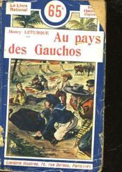 Au Pays Des Gauchos - Couverture - Format classique