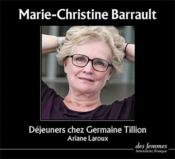 Déjeuners chez Germaine Tillion - Couverture - Format classique