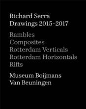 Vente livre :  Richard Serra drawings 2015-2017  - Serra Richard - Richard Serra