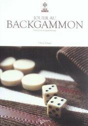 Jouer au backgammon - Intérieur - Format classique