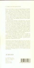 Un Siecle De Musique Russe, 1830-1930 ; Glinka, Tchaikovsky, Moussorgsky, Stravinsky - 4ème de couverture - Format classique