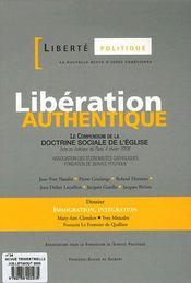 Liberté politique t.34 ; libération authentique - Intérieur - Format classique