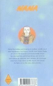 Nana t.15 - 4ème de couverture - Format classique