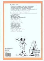 Recueil spirou t.254 - 4ème de couverture - Format classique