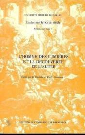 L'Homme Des Lumieres Et La Decouverte De L'Autre - Couverture - Format classique
