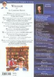 William et le carrosse hanté - 4ème de couverture - Format classique