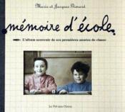 Album souvenir, memoire d'ecole - Couverture - Format classique