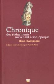 Chronique Des Evenements Survenant A Son Epoque - Intérieur - Format classique