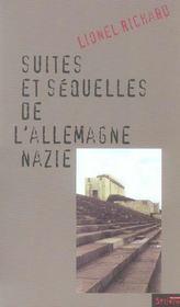 Suite Et Sequelles De L Allemagne Nazie - Intérieur - Format classique