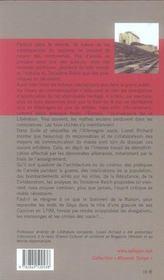 Suite Et Sequelles De L Allemagne Nazie - 4ème de couverture - Format classique