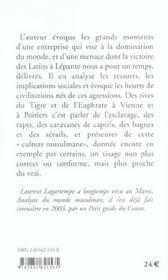 Histoire Des Barbaresques - 4ème de couverture - Format classique