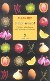 Simplissimo Cuisiner A L'Italienne - Intérieur - Format classique