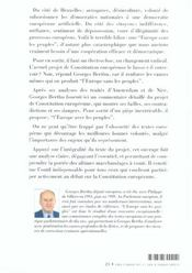L'europe sans les peuples - 4ème de couverture - Format classique
