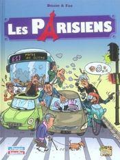 Les Parisiens t.1 - Intérieur - Format classique