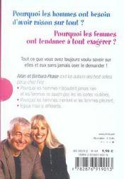 Pourquoi Les Hommes, Coffret 2 (2 Titres) Edition 2004 - 4ème de couverture - Format classique
