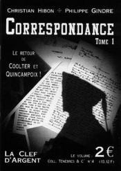 Correspondance t.1 - Couverture - Format classique