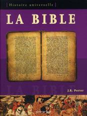 La bible ; histoire universelle - Intérieur - Format classique
