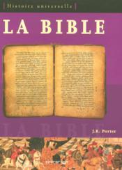 La bible ; histoire universelle - Couverture - Format classique