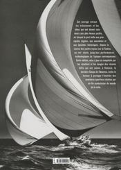 Voiliers ; l'histoire du yachting du XVII au XXI siècle - 4ème de couverture - Format classique