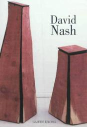 Vente livre :  David Nash ; black and red : bronze and wood  - Thierry Dufrene