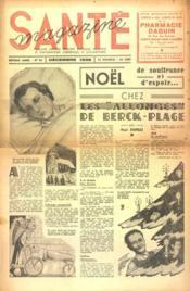Sante Magazine N°83 du 01/12/1938 - Couverture - Format classique