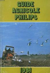 Guide Agricole Philips 1981. Tome 23. - Couverture - Format classique
