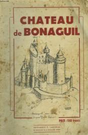 Chateau De Bonaguil - Couverture - Format classique