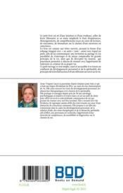 Ose ton chemin vers la conscience ; lettre ouverte d'un apprenti voyageur - 4ème de couverture - Format classique