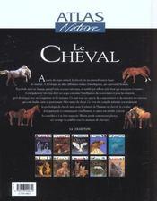 Le cheval - 4ème de couverture - Format classique