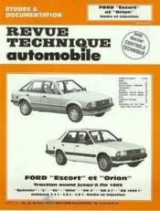 Rta 410.3 Ford Escort Et Orion Carbu-Inj.(80-84) - Couverture - Format classique