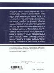 La Chevalerie Dans La Couronne De Castille Du Xie Au Xve Siecle - 4ème de couverture - Format classique