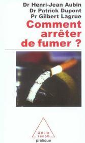 Comment arrêter de fumer ? - Intérieur - Format classique