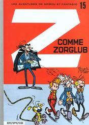 Spirou et Fantasio t.15 ; Z comme Zorglub - Intérieur - Format classique