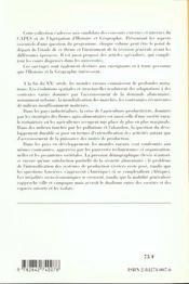 Crises Et Mutations Des Agricultures Et Des Espaces Ruraux - 4ème de couverture - Format classique