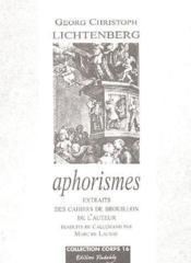 Aphorismes - Couverture - Format classique