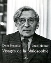 Visages De La Philosophie - Couverture - Format classique