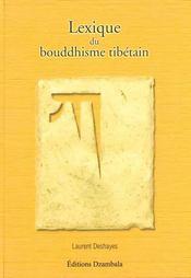 Lexique Du Bouddhisme Tibetain - Intérieur - Format classique